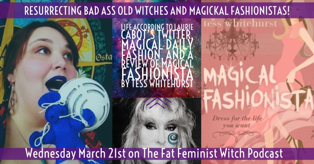 bad ass old witches and magical fashionista