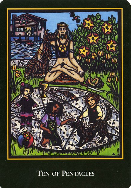 The World Spirit Tarot