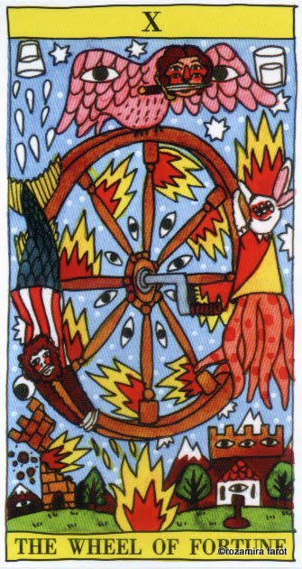 from the Tarot Del Fuego