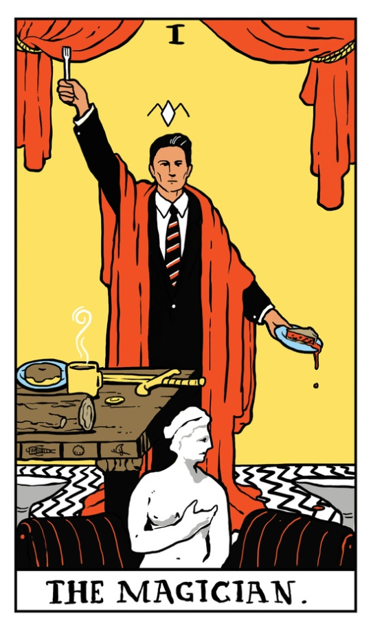 from the Twin Peaks Tarot